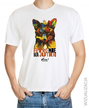 Koszulka męska ANTYFUTRO lis