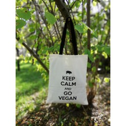 Torba KEEP CALM and GO VEGAN
