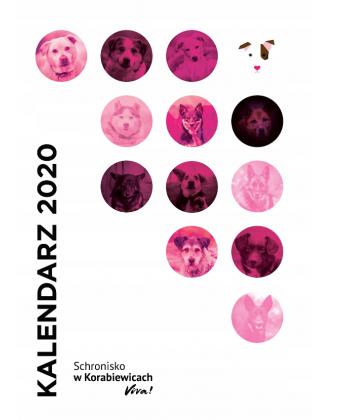 Kalendarz Schroniska w Korabiewicach 2020