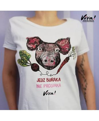 Koszulka damska JEDZ BURAKA