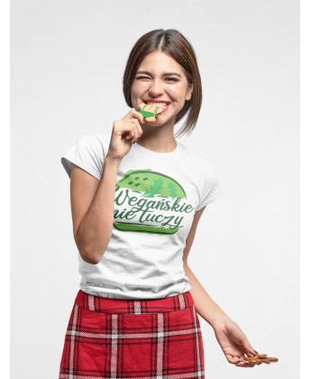 Koszulka damska WEGAŃSKIE NIE TUCZY