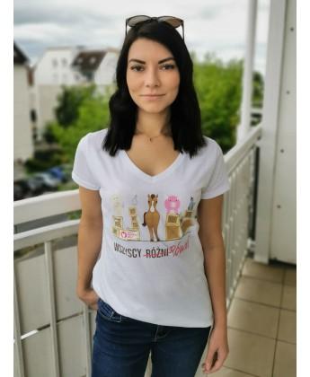 Koszulka damska WSZYSCY RÓWNI