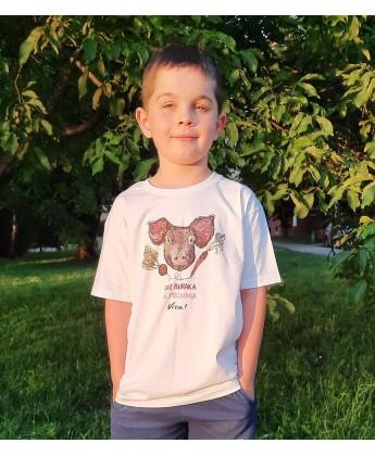 Koszulka dziecięca świnka Kochaj