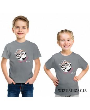 Koszulka dziecięca Kochaj nie zjadaj