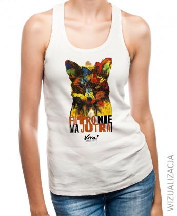 LIMITOWANA EDYCJA! Koszulka na ramiączkach ANTYFUTRO lis